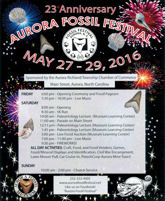 Aurora Fossil Festival