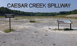 Caesar Creek Spillway - Fossil Collecting Location
