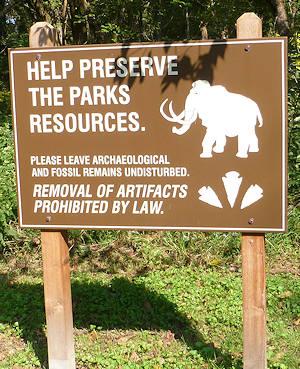 Big bone lick park state you