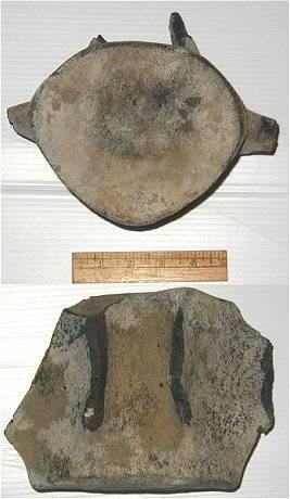 Fossil Whale Lumbar vertebra fossil from North Carolina