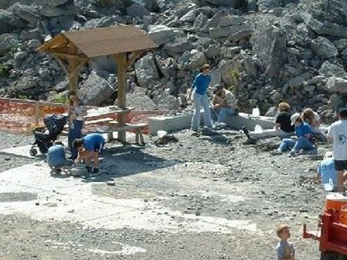 Sylvania, Ohio Fossil Site